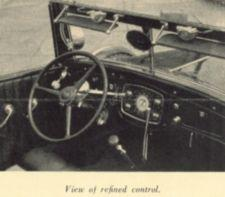 The driving mechanisms of Roosevelt's car.
