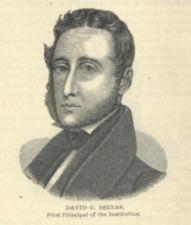 An engraving of David G. Seixas.