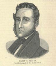 An engraving of David G. Seixas.