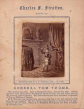 Tom Thumb dress in traditional Scottish clothing.