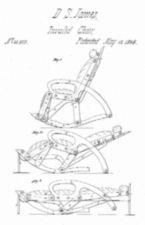 Design drawing for D.S. James Invalid Chair.