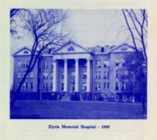 "Photograph of ""Elyria Memorial Hospital -- 1908"""