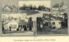 Images of houses at Warm Springs.