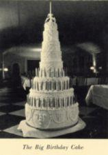 A large and ornate cake.