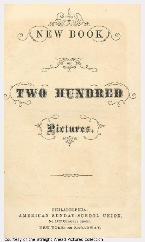 The title page of The New Book of 200 Pictures