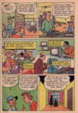 "Panels of the comic book, ""The Will to Win."" Good Willy continues his tour of Goodwill Industries."