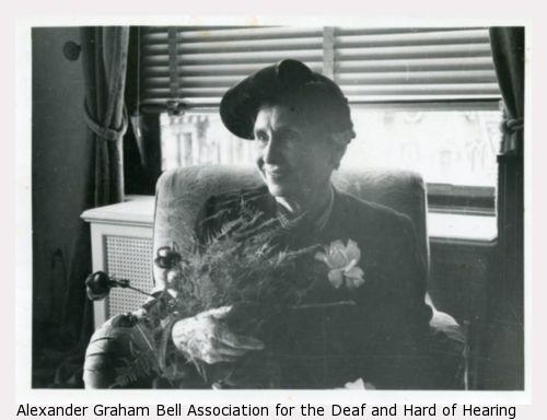Meeting of Mrs. B.B. Choudbury with Helen Keller in New York.