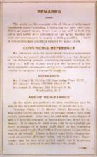Text on reverse of postcard - Remarks,Convincing Reference,About Remittance