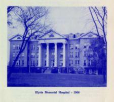 """Photograph of """"Elyria Memorial Hospital -- 1908"""""""
