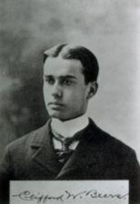 Young Clifford with name written at bottom