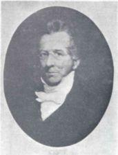 Portrait of Thomas Gallaudet.