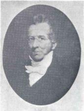 Portrait of Thomas Gallaudet.