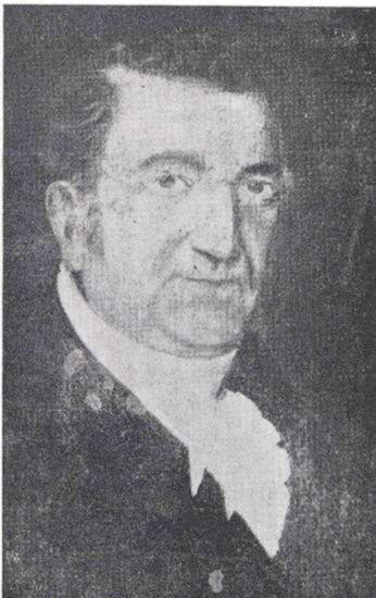 Portrait of Mason Cogswell.